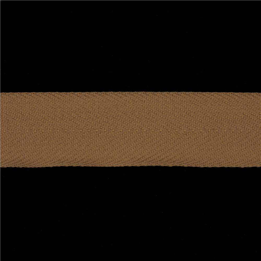 1 1/2'' Poly Twill Tape Ribbon Natural
