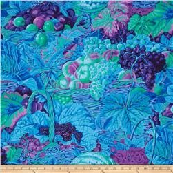 Kaffe Fassett Collective Market Basket Blue