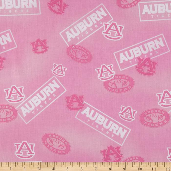 Collegiate Cotton Broadcloth Auburn Pink