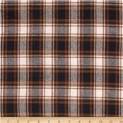 Windstar Flannel Plaid Natural/Black
