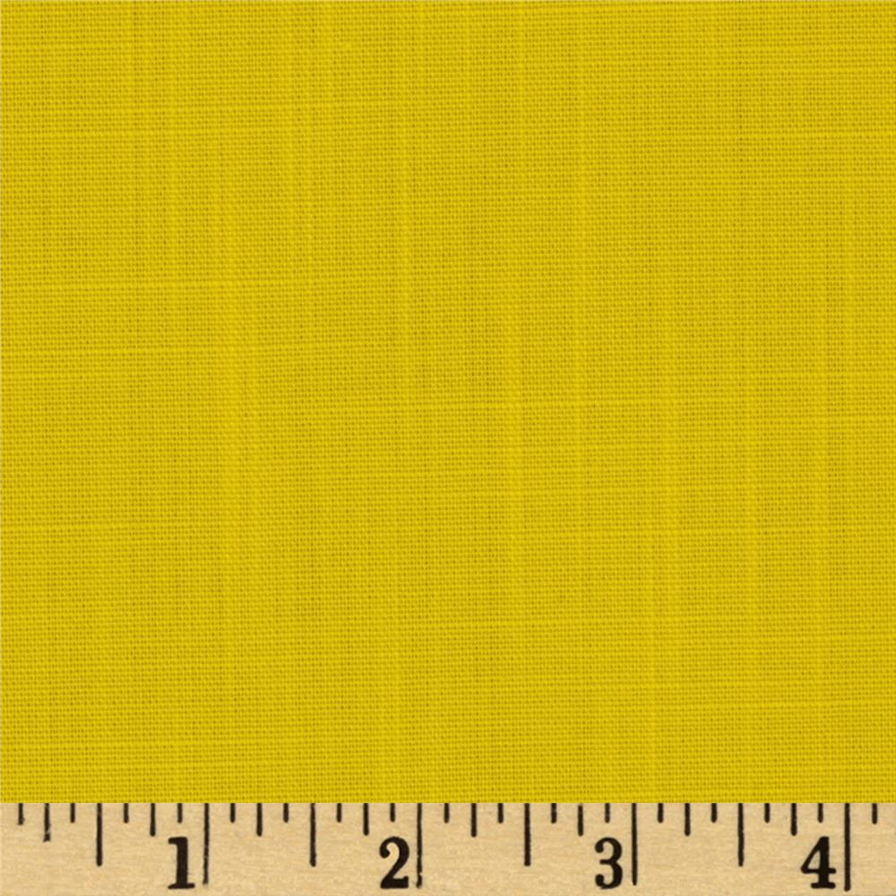 Poly Rayon Colleen Yellow