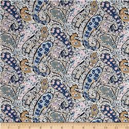 Liberty of London Classic Tana Lawn Bourton Blue/Pink