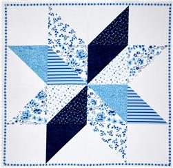 Sweet Tea Digital 44 In. Panel Barn Star Delft