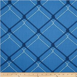 Nautica Indoor/Outdoor Block Isle Harbor Blue Fabric