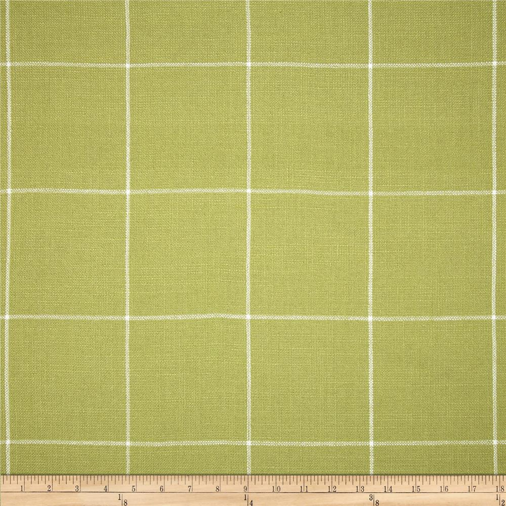 Golding Captiva Woven Large Check Citron