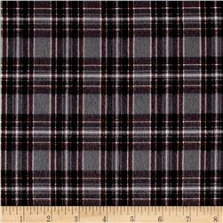 Mad for Plaid Flannel Mini Stewart Plaid Grey