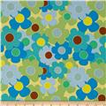 Thesaurus Allover Floral Blue
