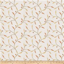 Fabricut Rudd Leaves Applique Sorbet