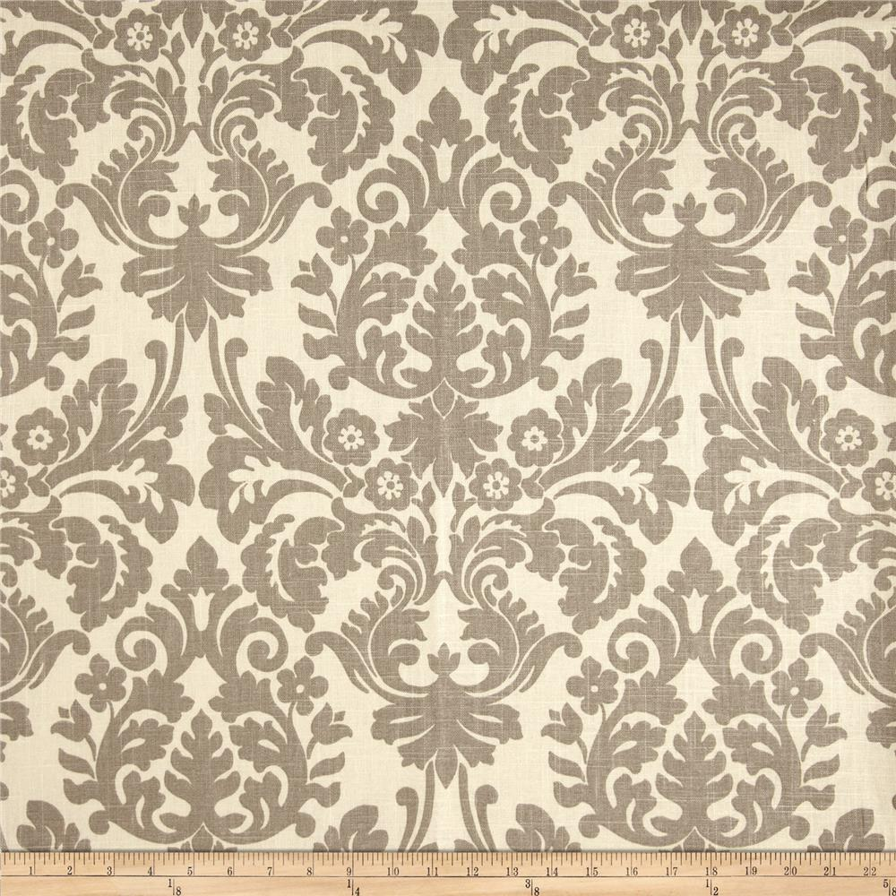 Waverly Essence Blend Damask Smoke