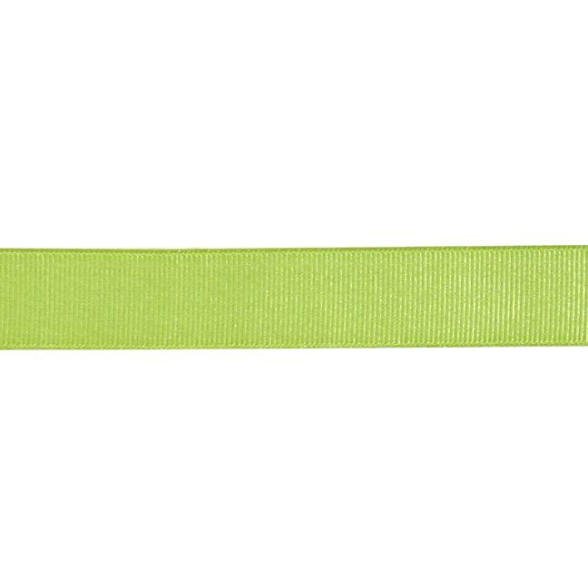 3/4'' Grosgrain Ribbon Lime