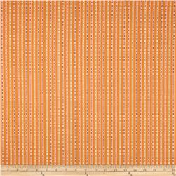 Home Accents Calcutta Jacquard Stripe Orange Fabric