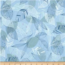 Flutter Leaf Toss Light Blue