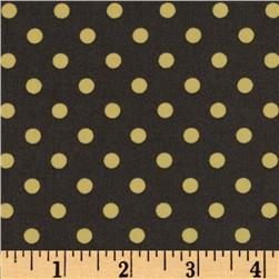 Michael Miller Dumb Dot Pluto Grey Fabric