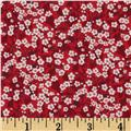 Liberty of London Tana Lawn Mitsi Valeria Red/White