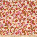 Cotton + Steel Trinket Canvas Daisy Fields Pink