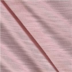 Blend Slub Jersey Knit Light Pink