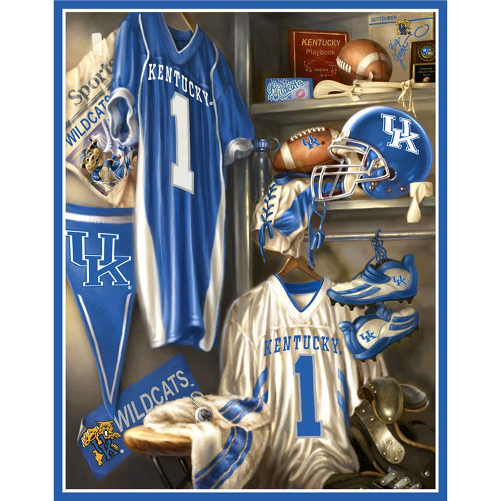 Collegiate Locker Room Fleece Panel University Of Kentucky