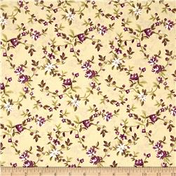 Nancy Gere Peyton Small Floral Green