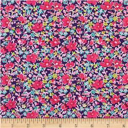 Liberty of London Tana Lawn John Purple/Multi