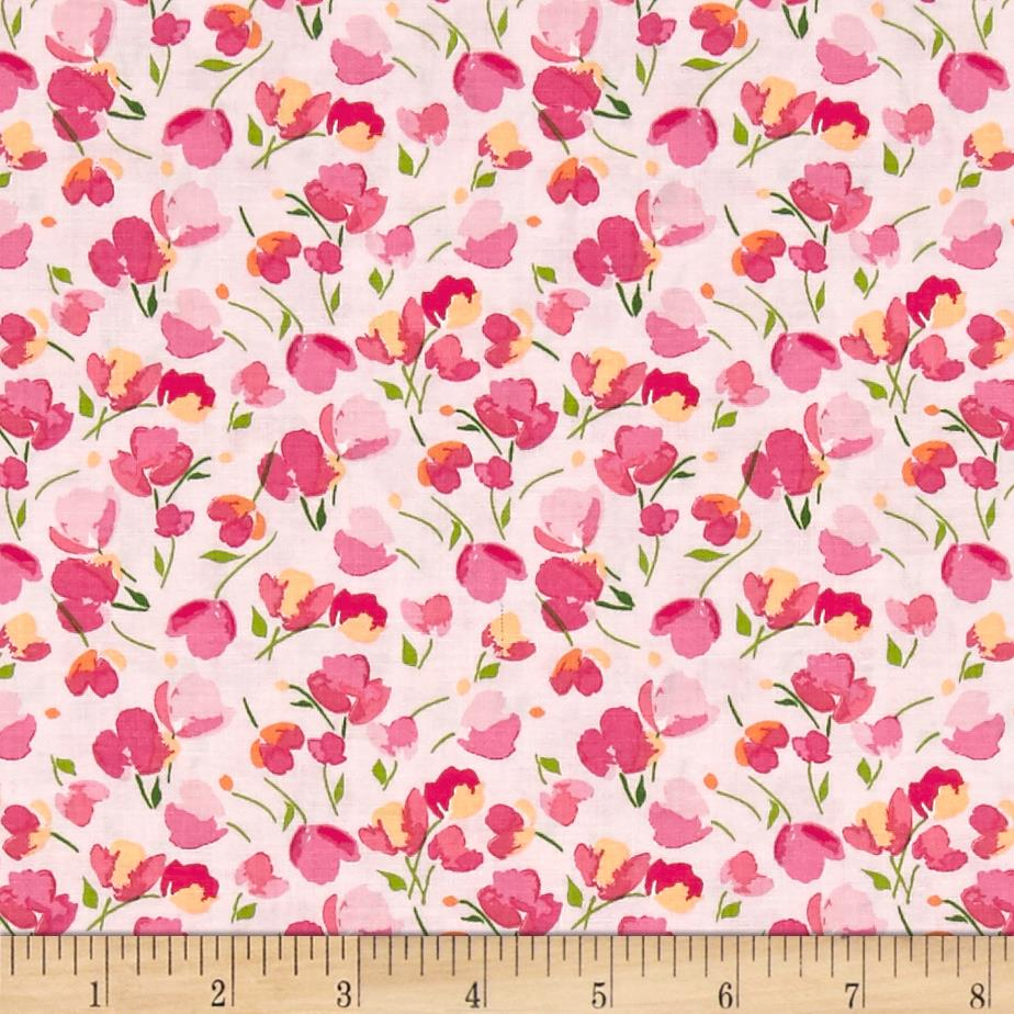 Riley Blake Paige's Passion Floral Pink