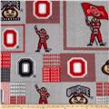 Collegiate Fleece The Ohio State University Scarlet