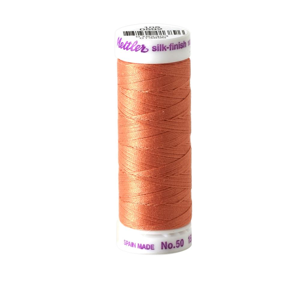 Mettler Cotton All Purpose Thread Salmon
