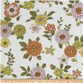 Kaufman Lennox Gardens Cotton Lawn Small Floral White
