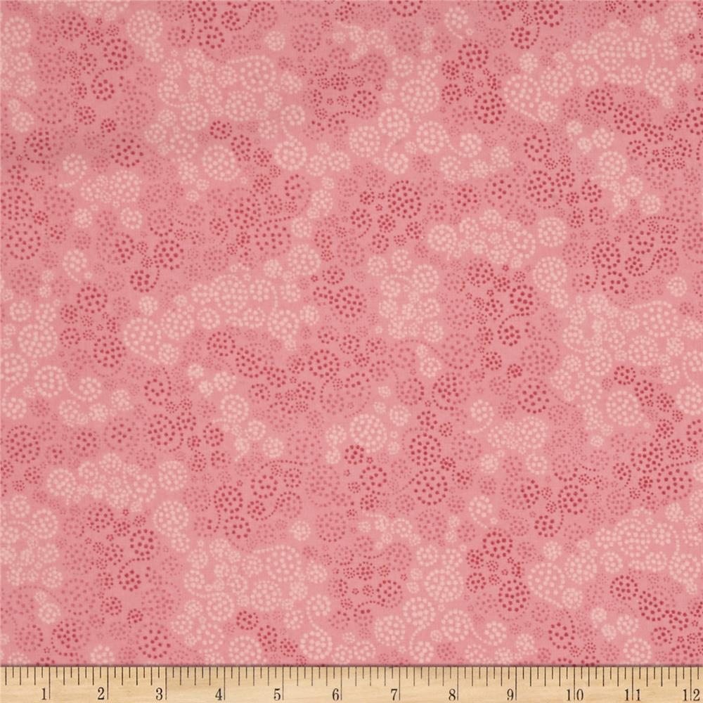 Essentials Flannel Sparkles Dusty Rose