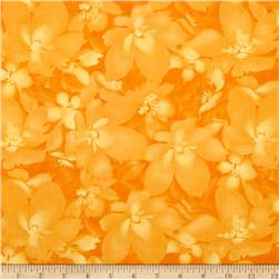 Catalina Tonal Floral Light Orange