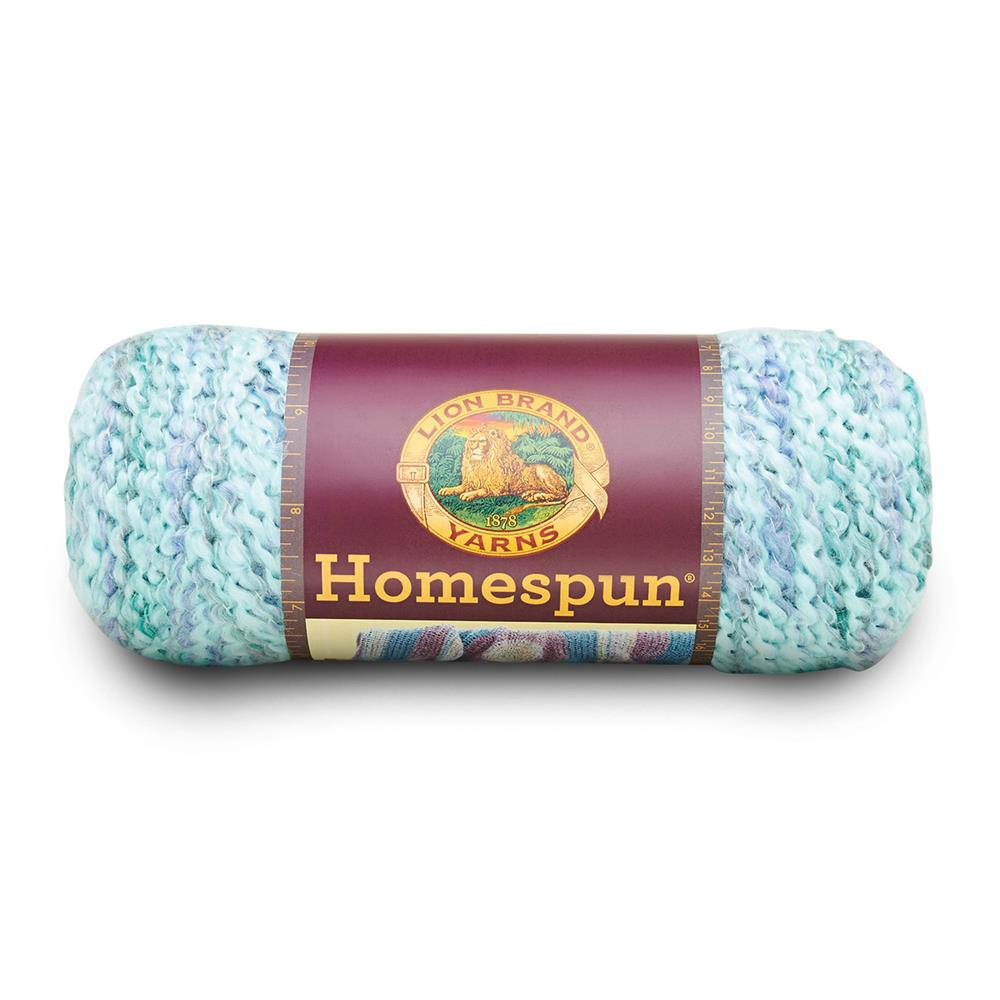 Lion Brand Homespun Yarn (329) Waterfall