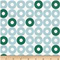 Cotton + Steel Rotary Club Ring Rings Blue-Green