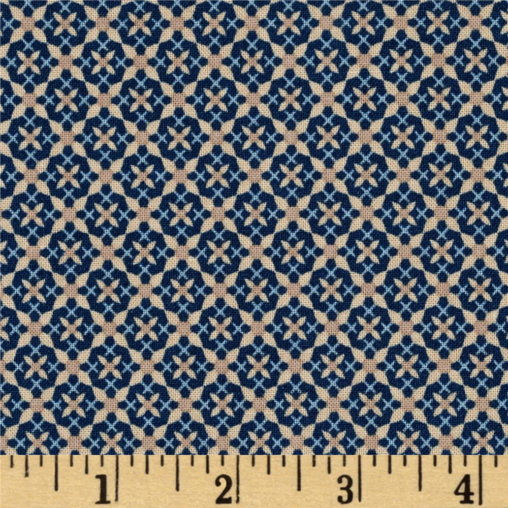 Penny Rose Forget Me Not Criss Cross Navy