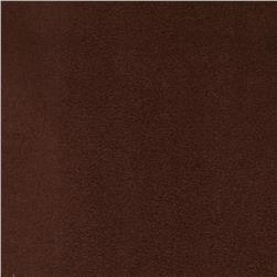 Magitex Water Resistant Upholstery Suede Chocolate Fabric