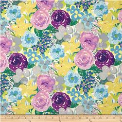 Dear Stella Sunday Morning Large Floral Purple