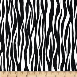 Amboseli Zebra Skin Black/White Fabric