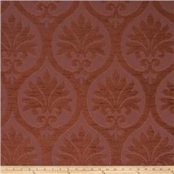 Fabricut Chastain Chenille Etruscan Red