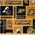 Collegiate Fleece Purdue University Gold
