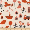 Cotton + Steel Christian Robinson Spectacle Commotion Natural