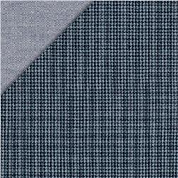 Kaufman Double Cloth Cotton Mini Check Indigo