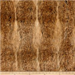 Faux Fur Canadian Fox Fur Honey