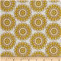 Riley Blake Indie Chic Circle Yellow