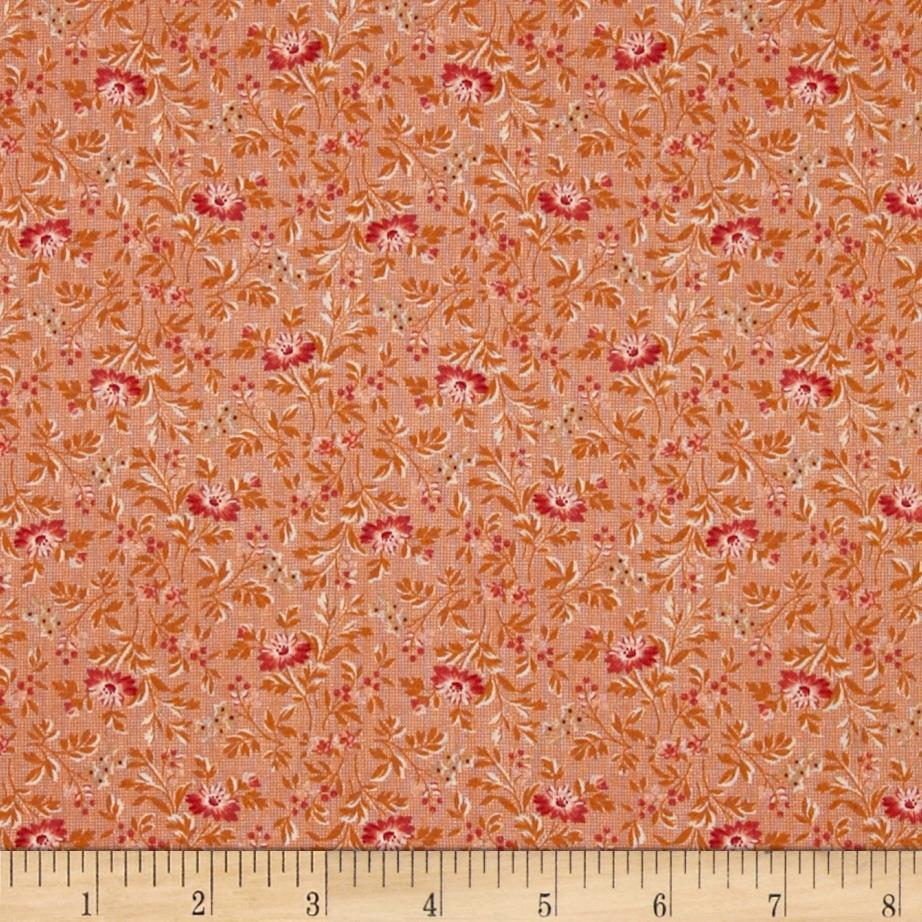 Mrs. March's Collection in Antique Small Packed Floral Pink