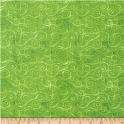 Essentials Swirly Scroll Lime
