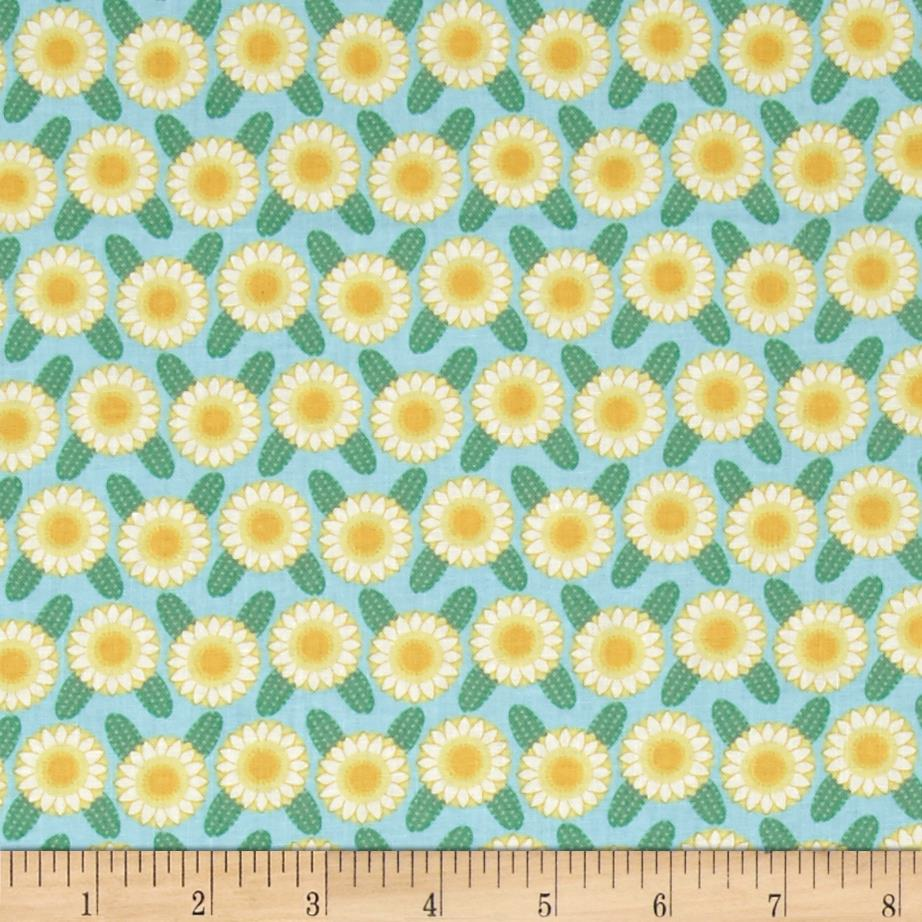 Arizona State Flower Saguaro Catcus Flower Green/Yellow/White