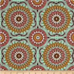 Joel Dewberry Bungalow Home Decor Sateen Doily Mint