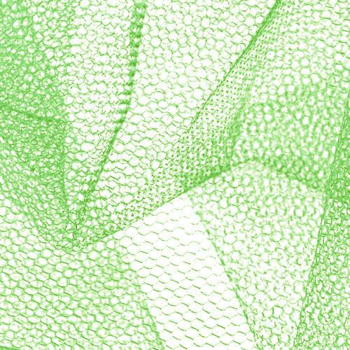 Nylon Net Lime Green Fabric By The Yard