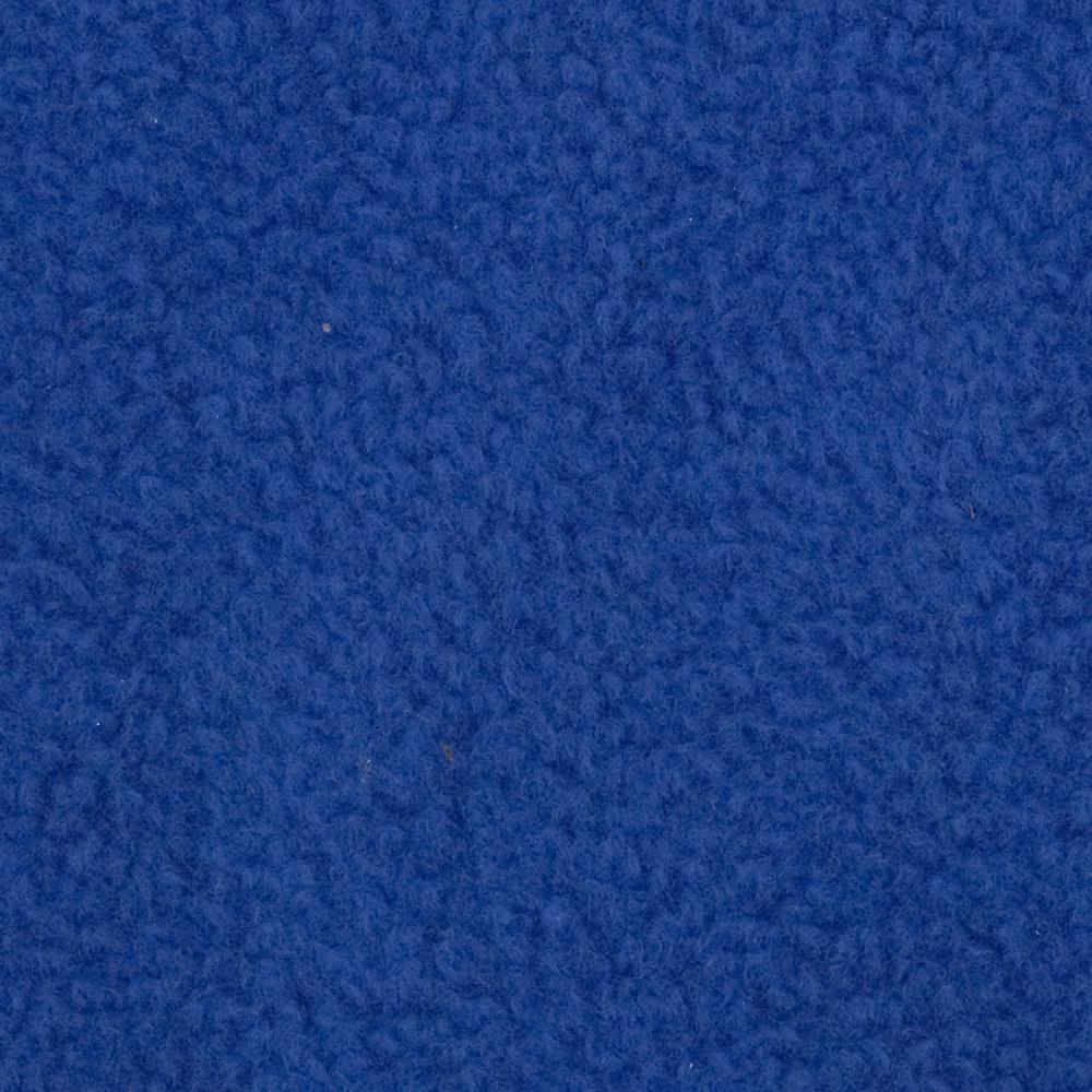 Warm Winter Fleece Solid Royal Fabric