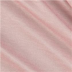 Rayon Cotton Jersey Knit Cool Blush