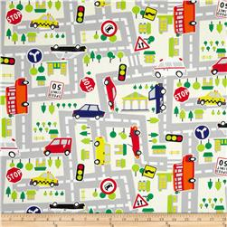Kokka Transportation Road Map White