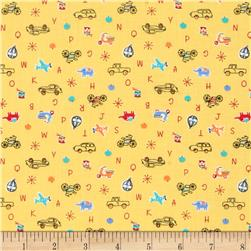 Lecien Minny Muu Tiny ABC Yellow